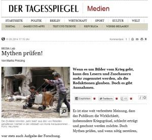 Bachlorarbeit von Linda Katharina Klein auf tagesspiegel.de